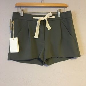 BNWT Wilfred Aritzia Exergue Shorts Size 2